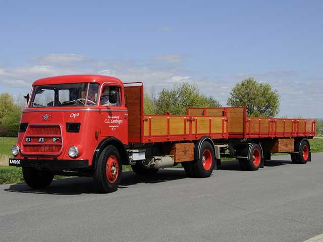 Historie Lambregts Transport DAF