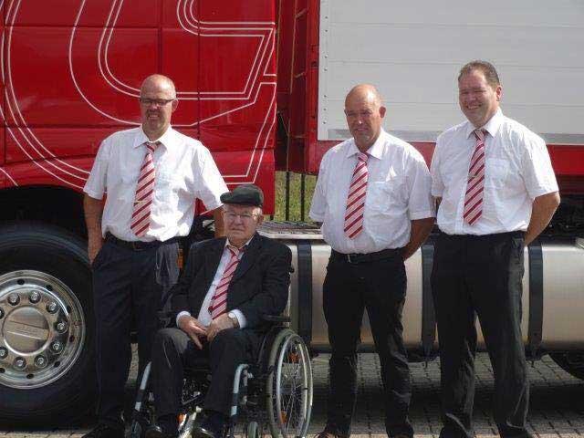 Historie Lambregts Transport oprichter vader en zonen Lambregts