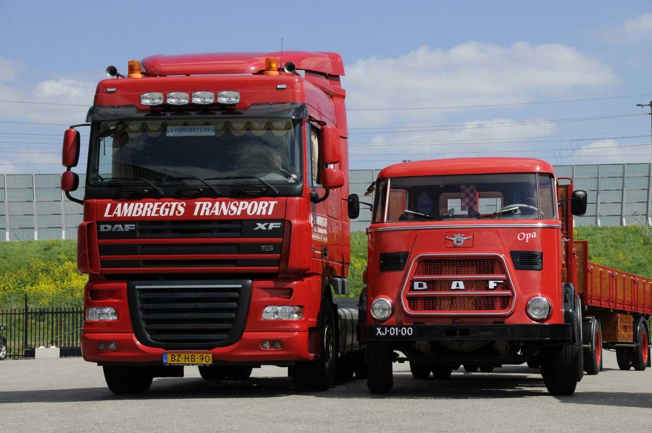 Historie oud&nieuw Lambregts Transport